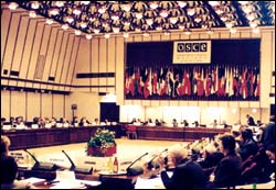 OSCE conference in Warsaw
